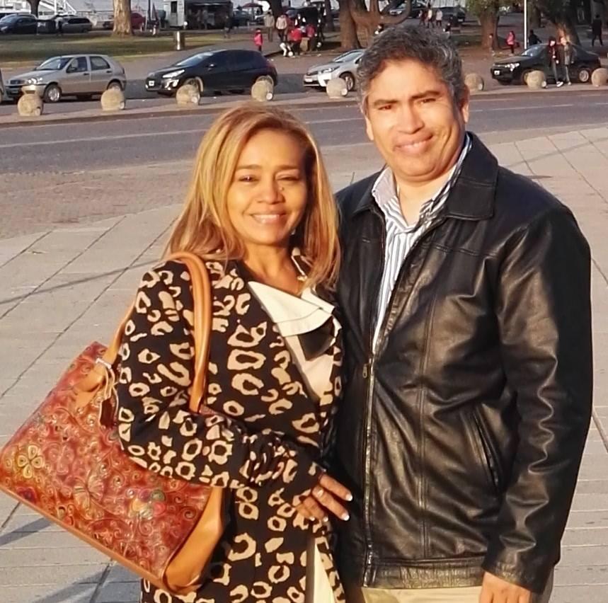 Prof. Fidel y Licda. Rosa Jaramillo